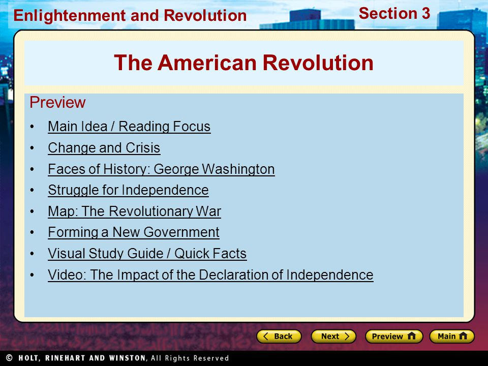 "revolutionary war study guide ""revolutionary war"" study guide test format: 44 multiple choice questions & 1 extended response question  review ohio's grade 8 social studies expectations for learning and learning standards."