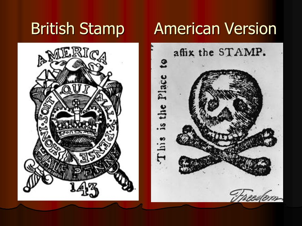 British Stamp American Version