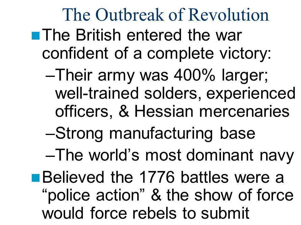 The Outbreak of Revolution