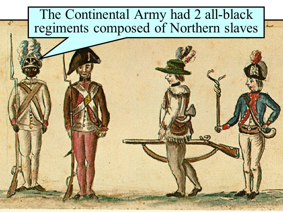 Slaves & Indians in the War
