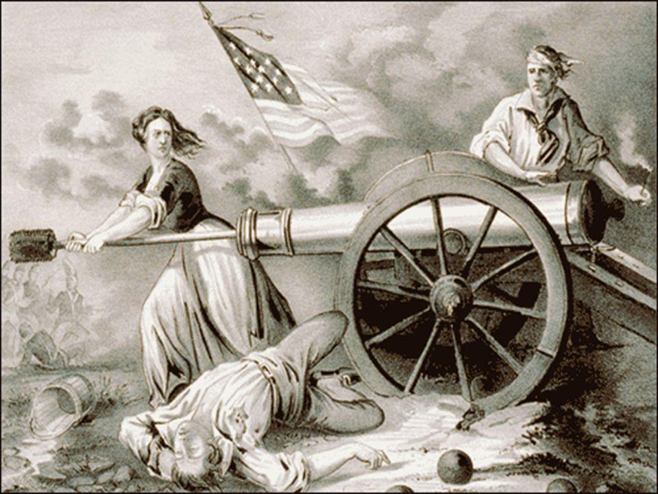 Women in the War Women's role in the revolution: