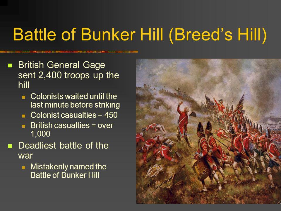 Battle of Bunker Hill (Breed's Hill)