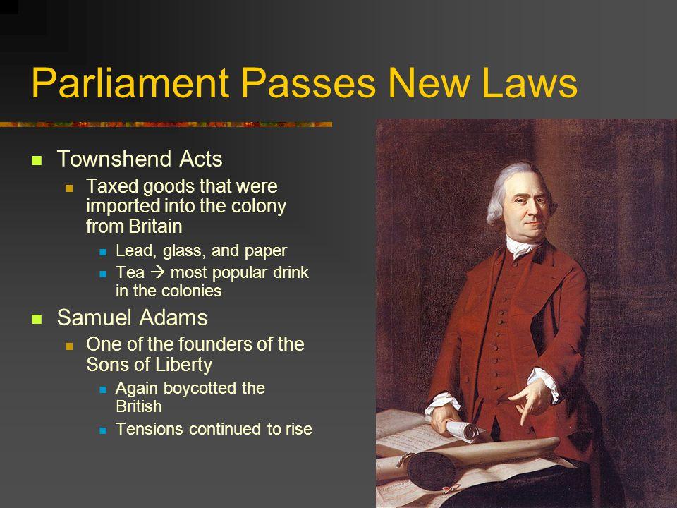 Parliament Passes New Laws