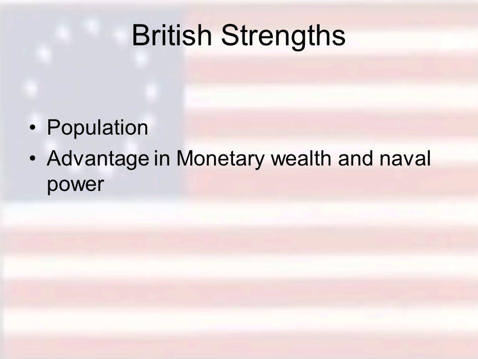British Strengths Population