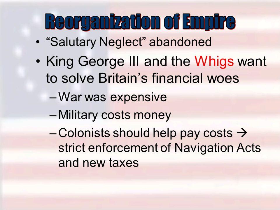 Reorganization of Empire