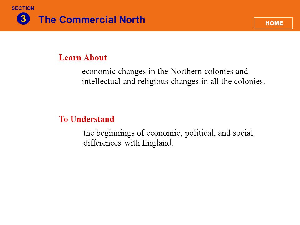 3 The Commercial North Learn About