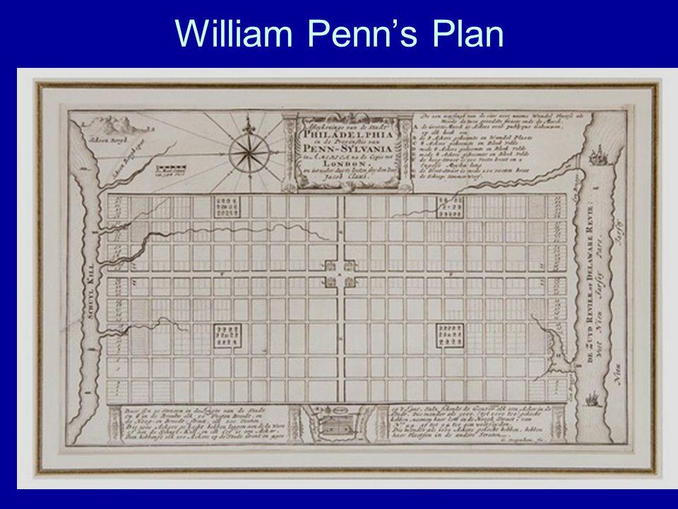 William Penn's Plan