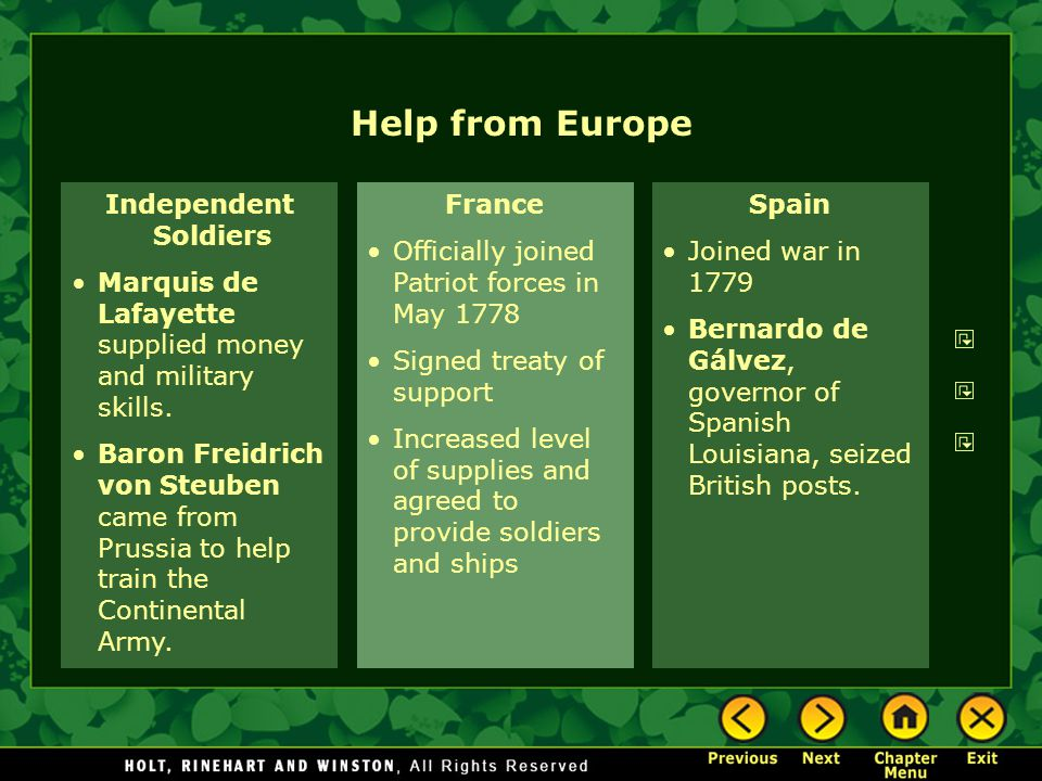 Help from Europe Independent Soldiers