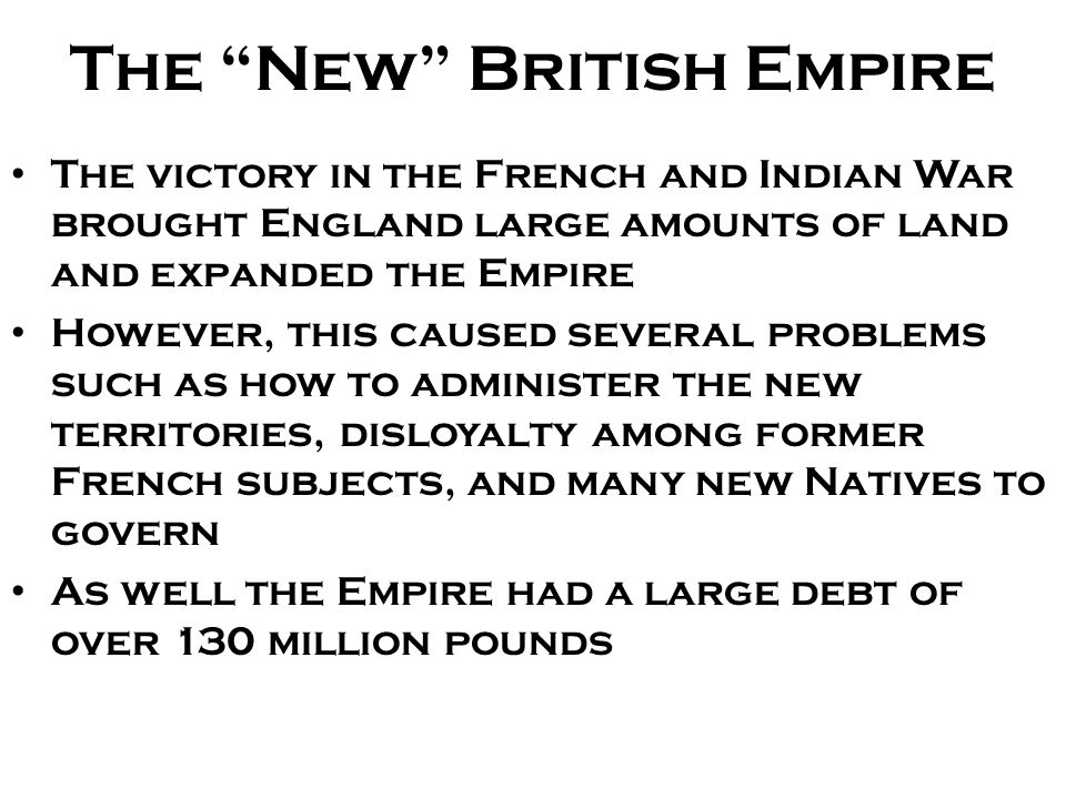 The New British Empire