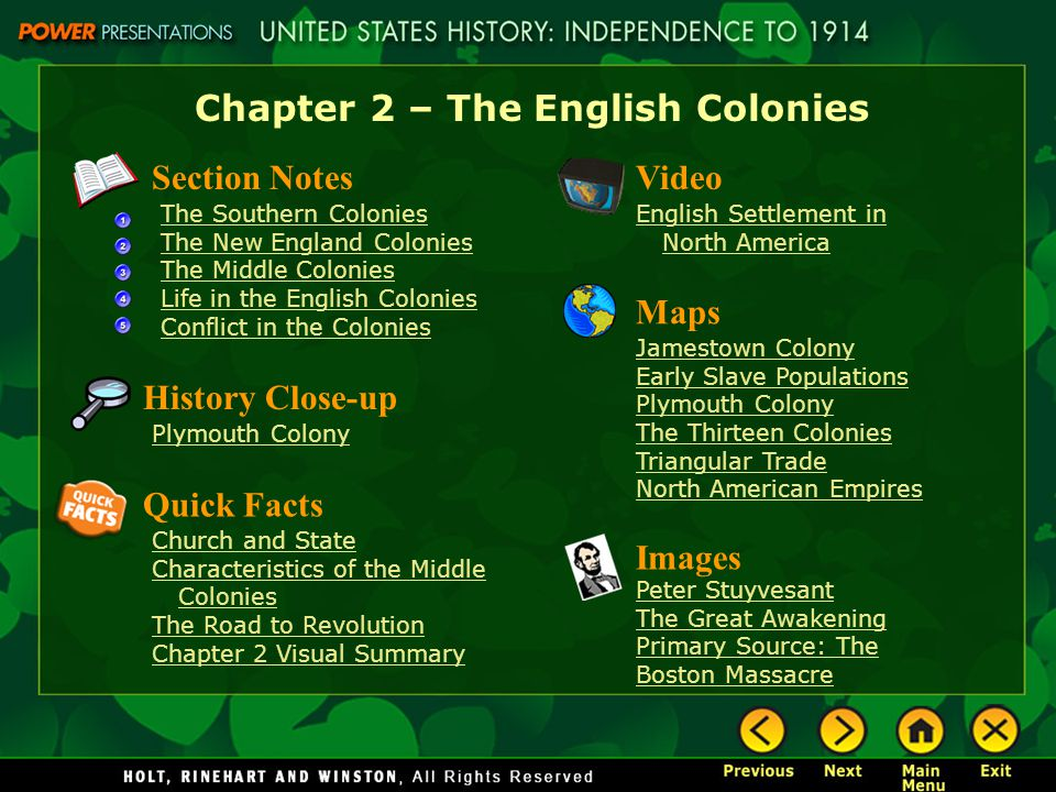 Chapter 6 middle colonies study guide
