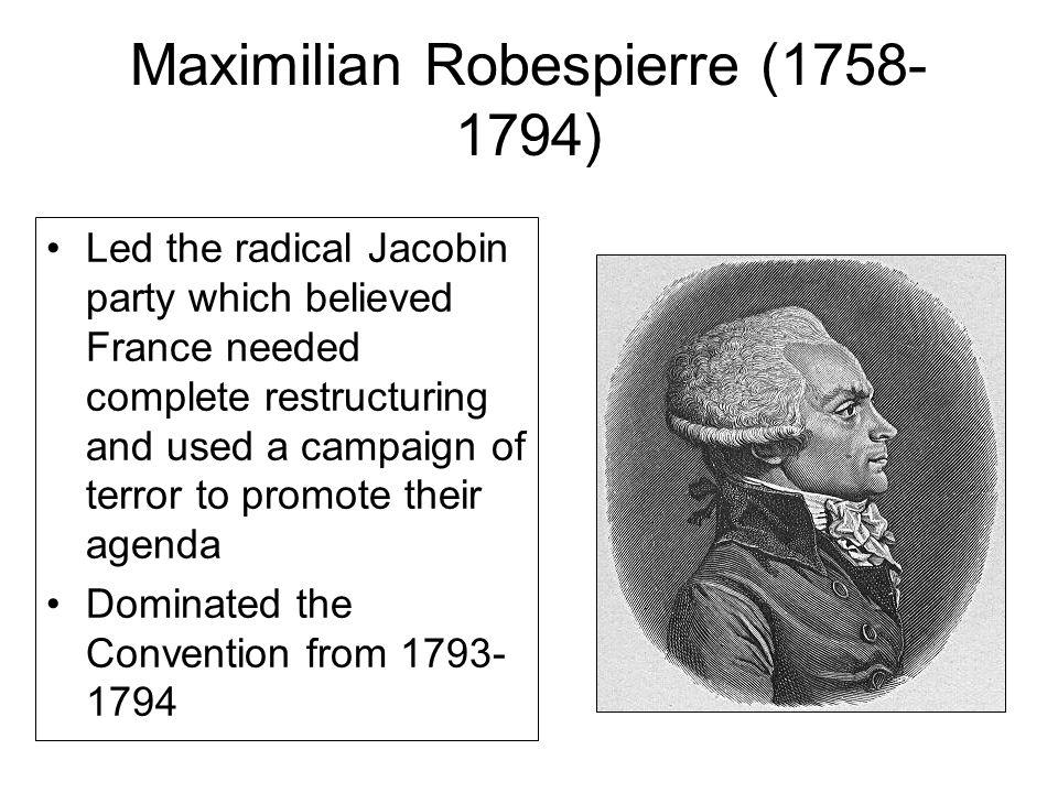 Maximilian Robespierre (1758-1794)