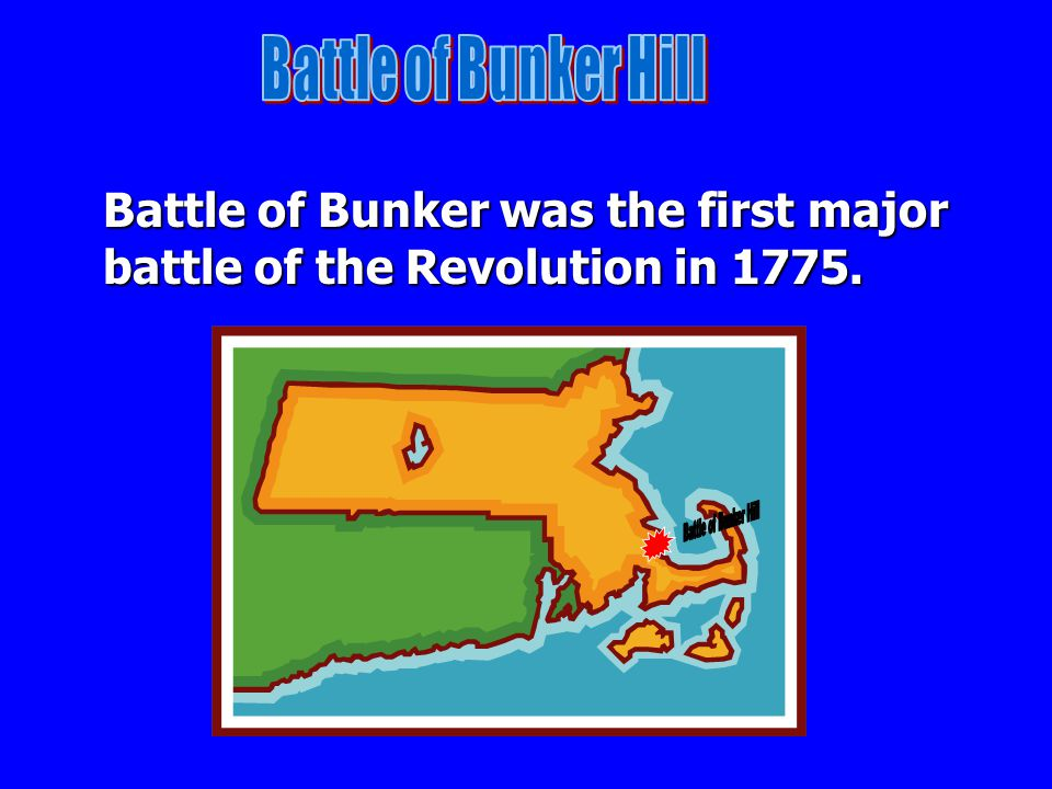 Battle of Bunker Hill Battle of Bunker Hill