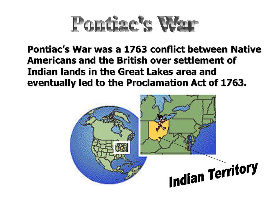 Pontiac s War Indian Territory