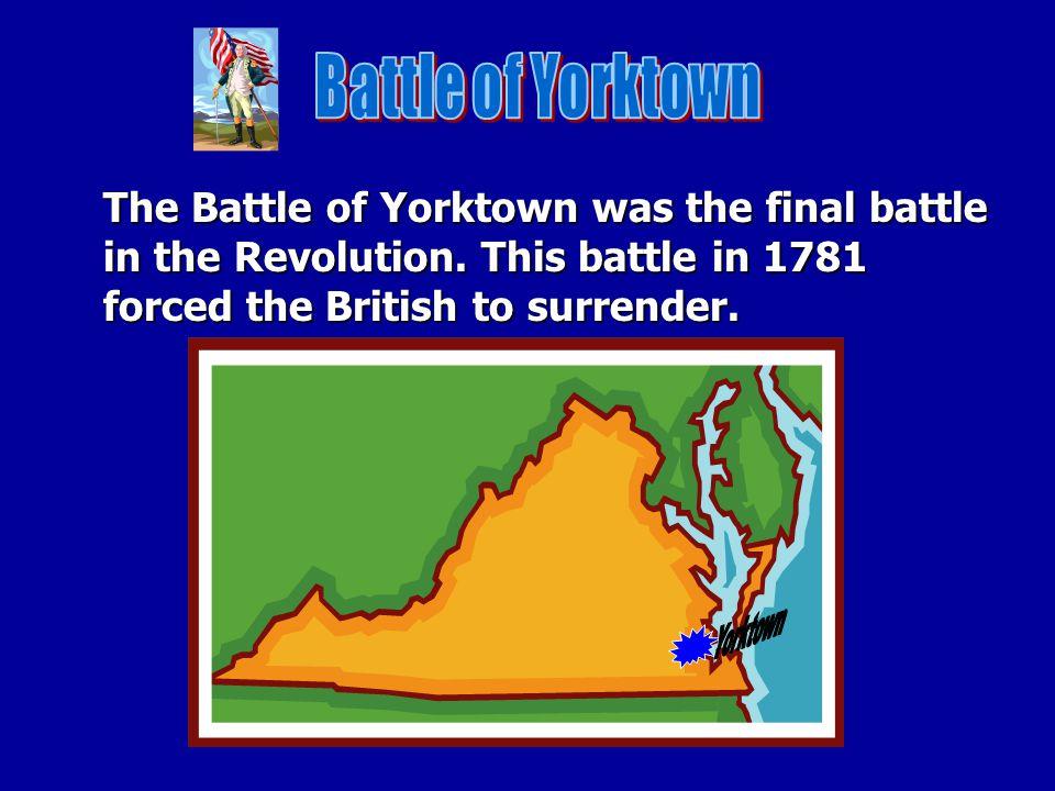 Battle of Yorktown Yorktown