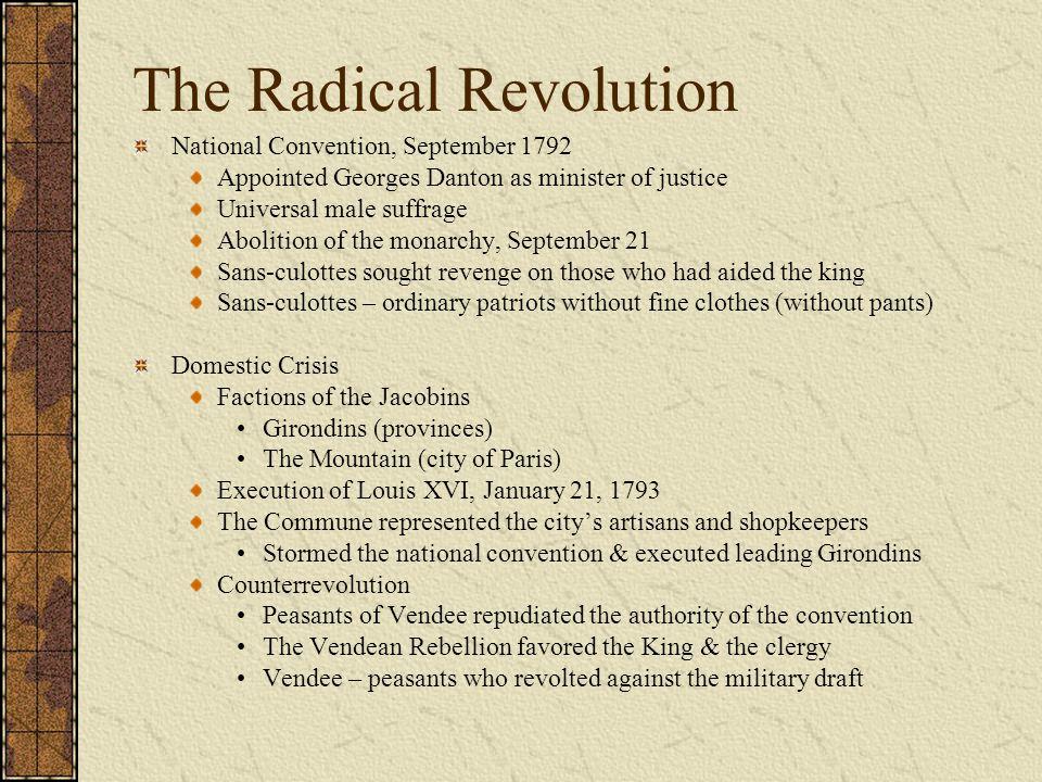 The Radical Revolution