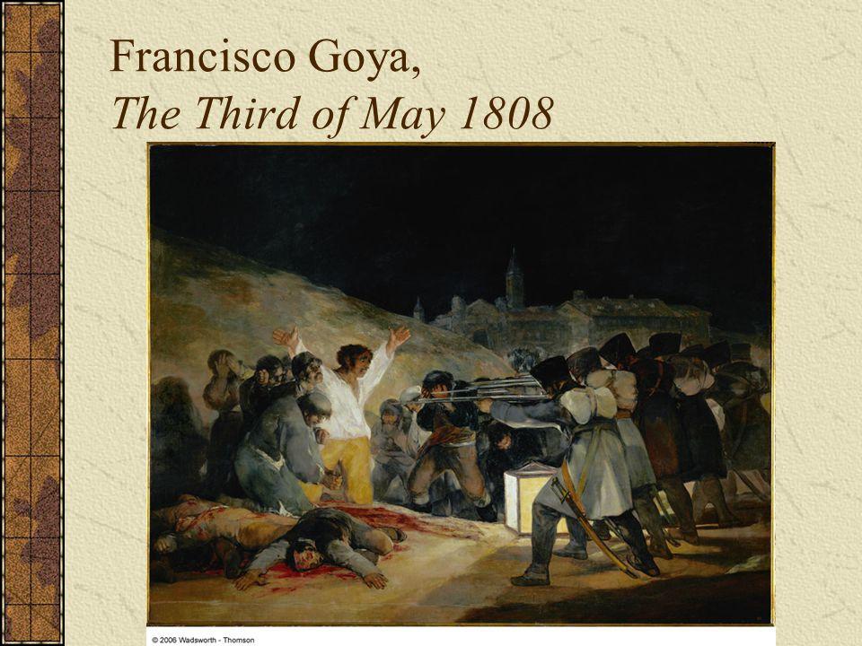 Francisco Goya, The Third of May 1808