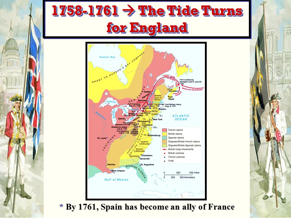 1758-1761  The Tide Turns for England