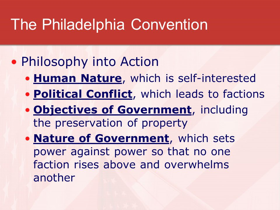 The Philadelphia Convention