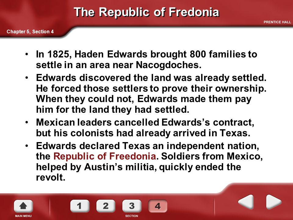 The Republic of Fredonia