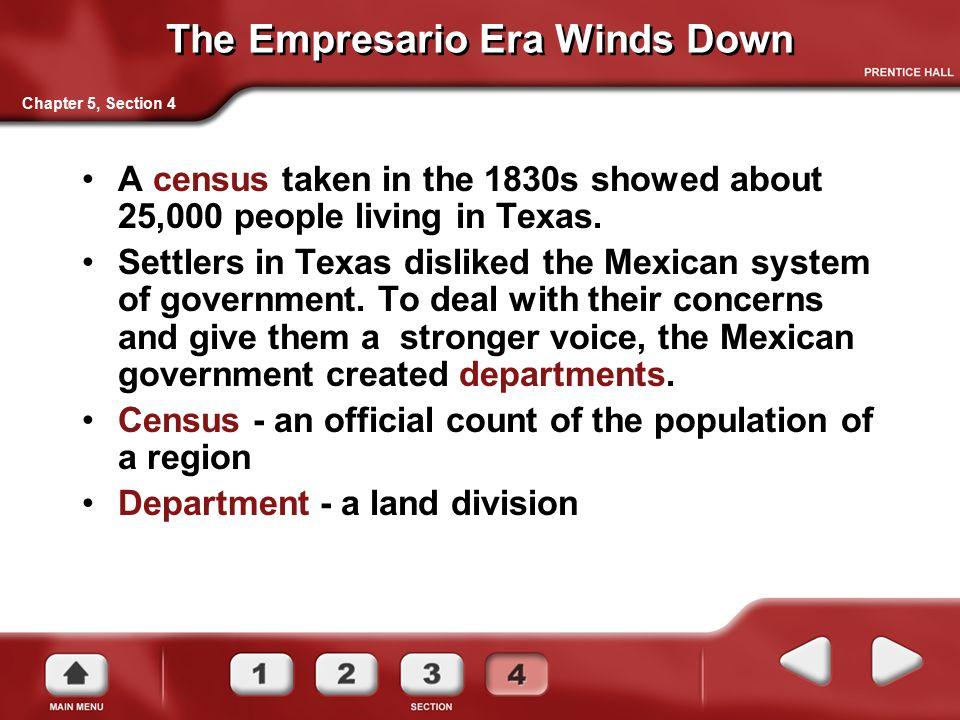 The Empresario Era Winds Down