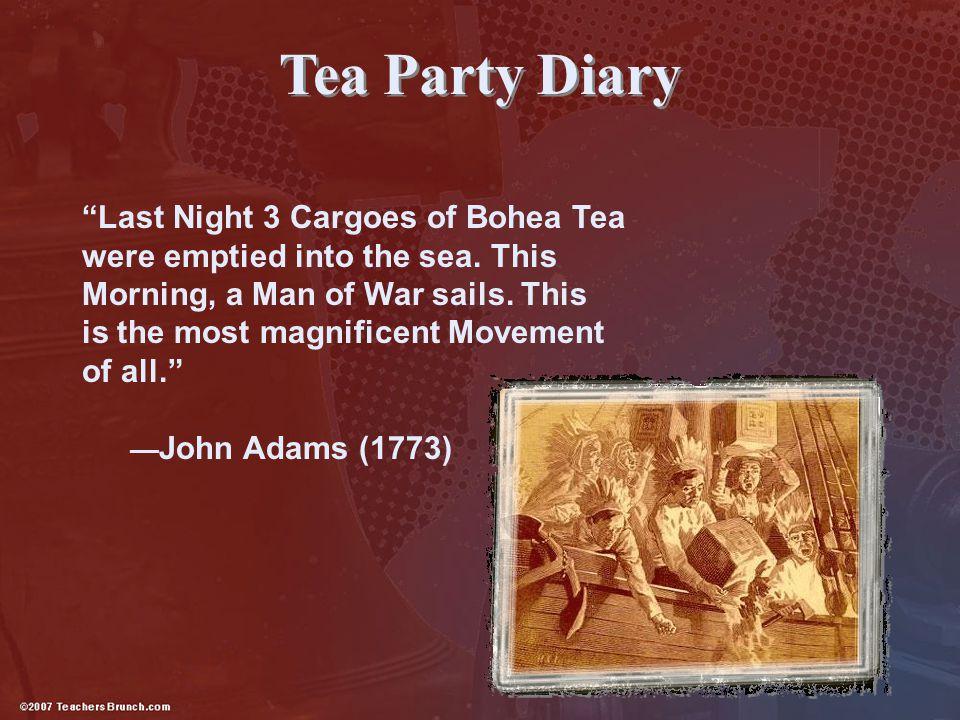 Tea Party Diary