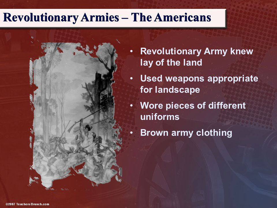 Revolutionary Armies – The Americans