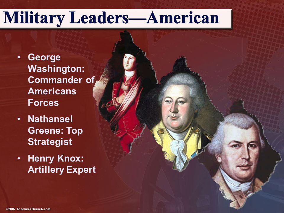 Military Leaders—American