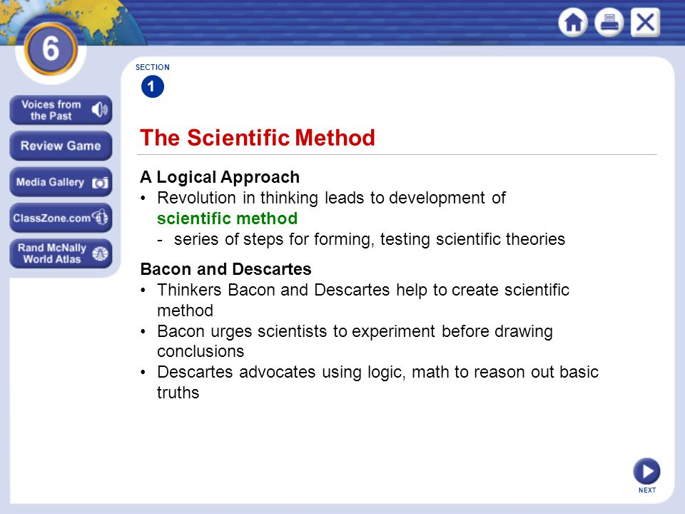 The Scientific Method A Logical Approach