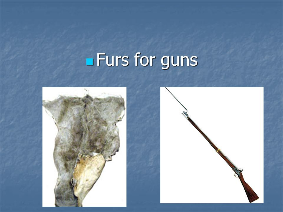 Furs for guns