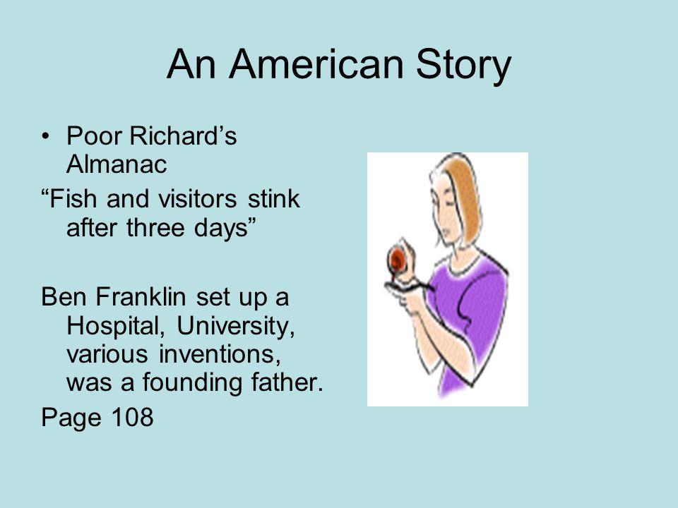 An American Story Poor Richard's Almanac
