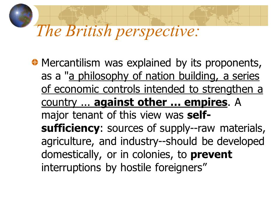 The British perspective: