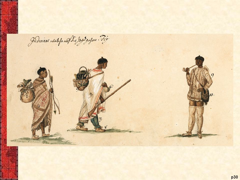 Carolina Indians German painter Philip Georg Friedrich von Reck drew these Yuchi