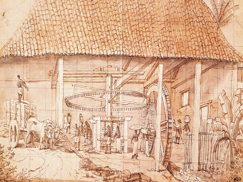 Sugar Mill in Brazil, by Frans Post, ca. 1640