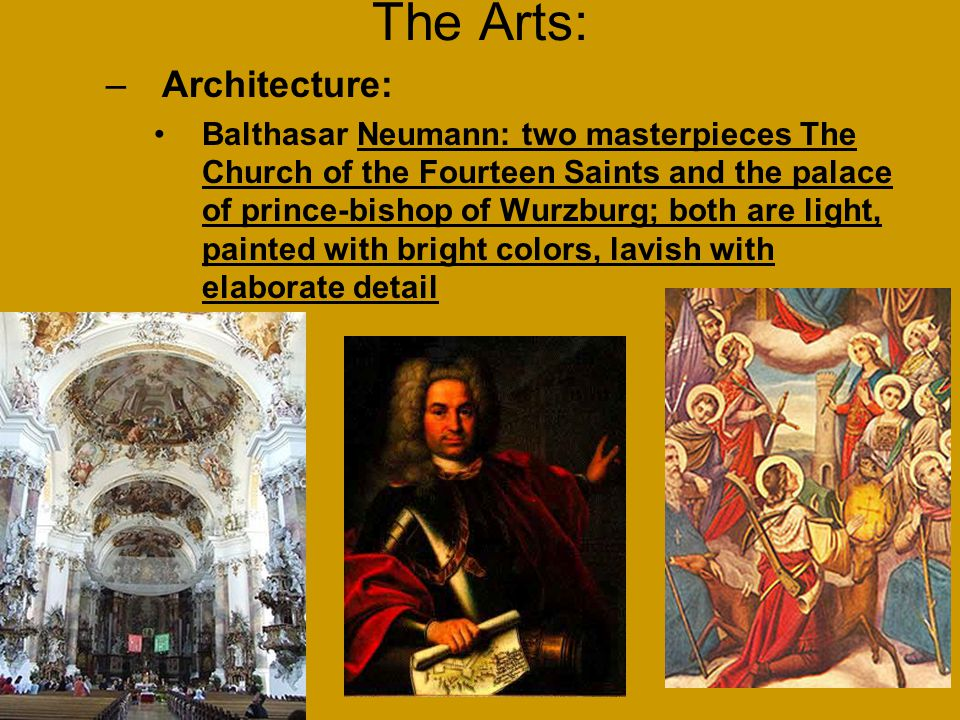 The Arts: Architecture: