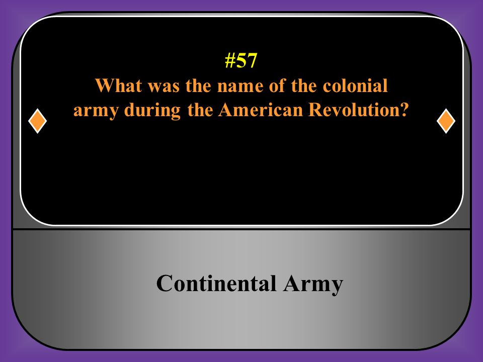 What was the name of the colonial