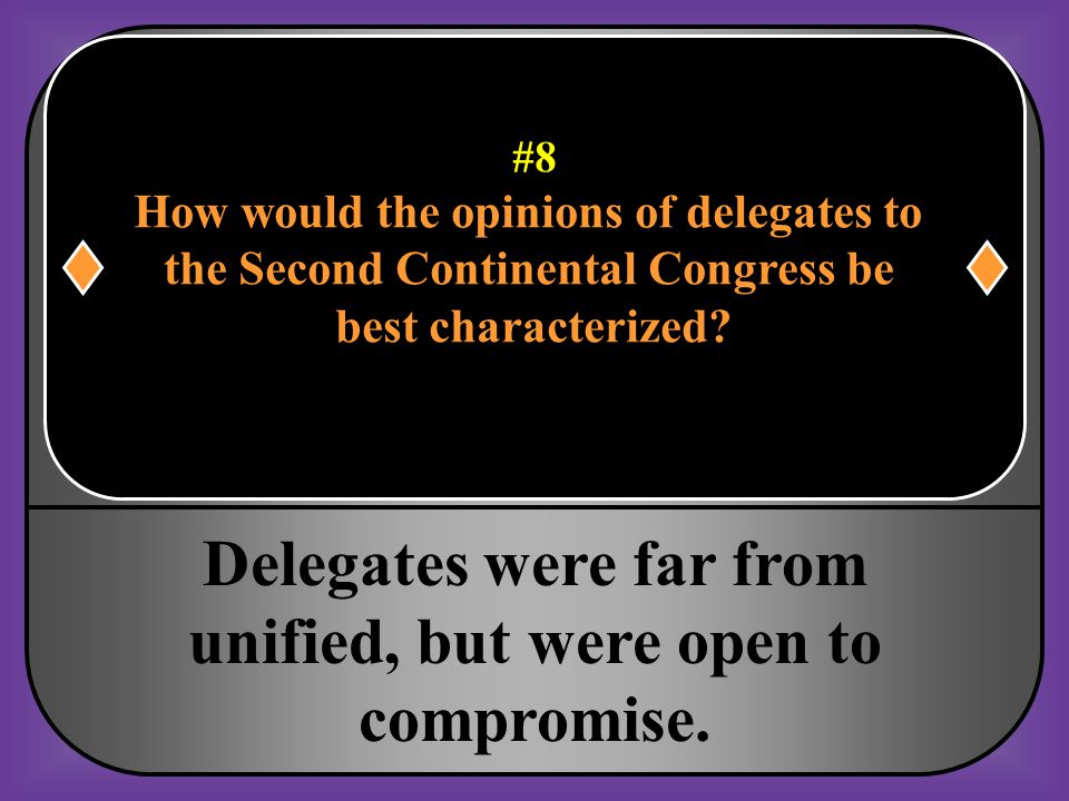 Delegates were far from unified, but were open to compromise.