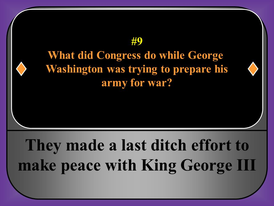 What did Congress do while George Washington was trying to prepare his