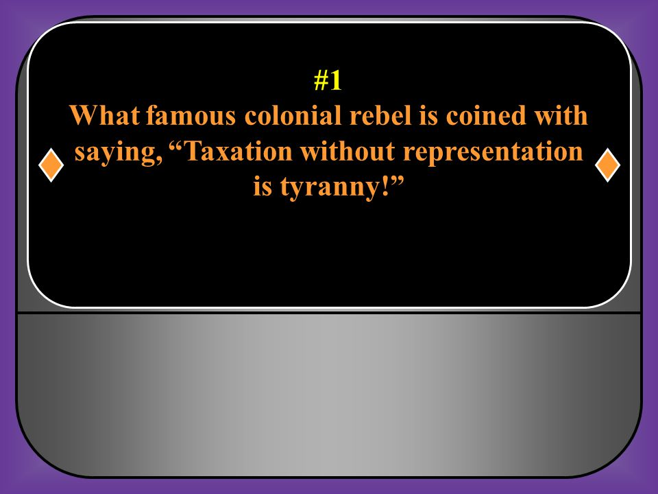 What famous colonial rebel is coined with