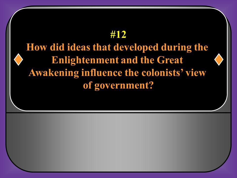 How did ideas that developed during the Enlightenment and the Great