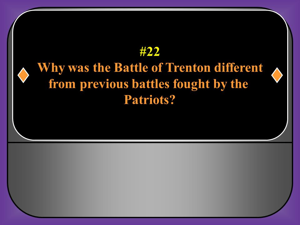 Why was the Battle of Trenton different