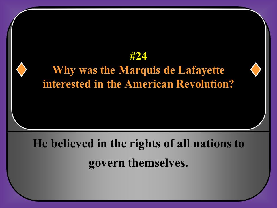 He believed in the rights of all nations to govern themselves.