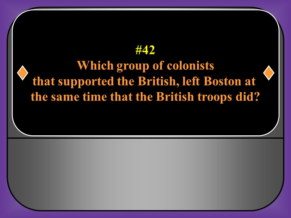Which group of colonists that supported the British, left Boston at