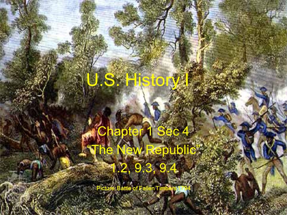 Picture: Battle of Fallen Timbers 1794