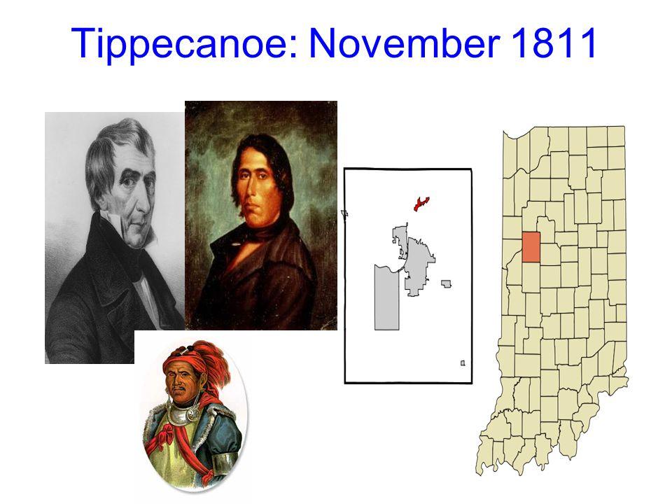 Tippecanoe: November 1811