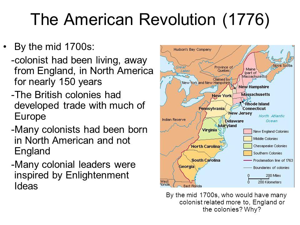 The American Revolution (1776)