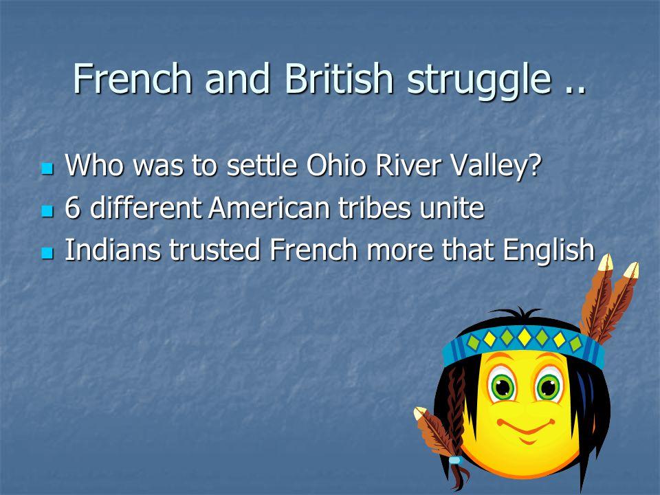French and British struggle ..