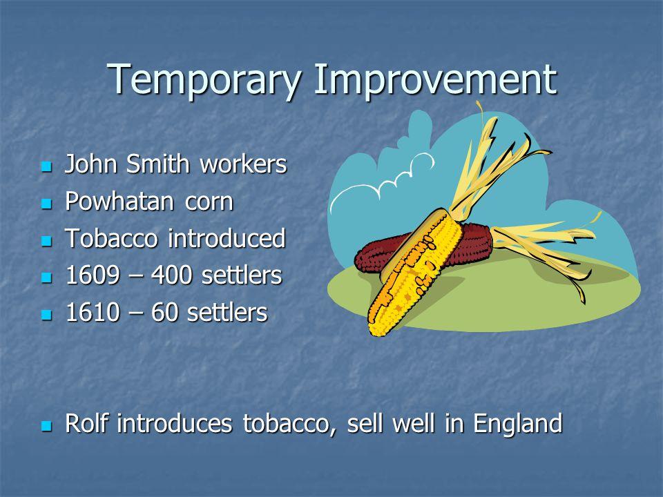 Temporary Improvement
