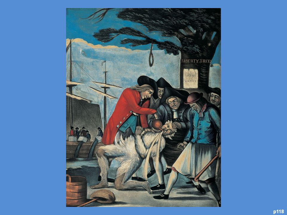 Public Punishment for the Excise Man, 1774 T his