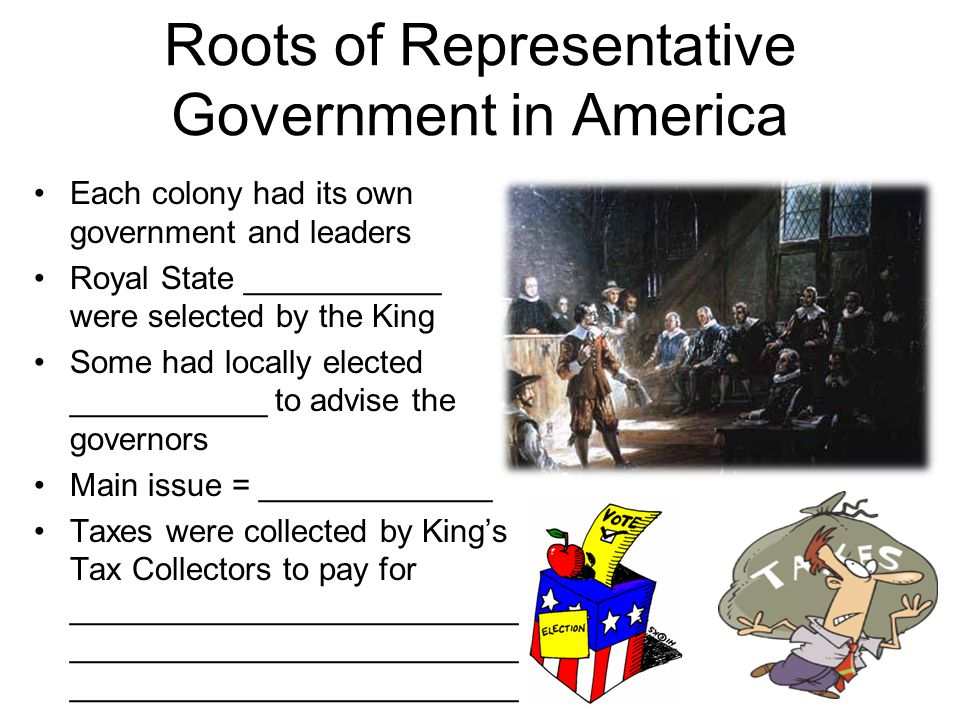 Roots of Representative Government in America