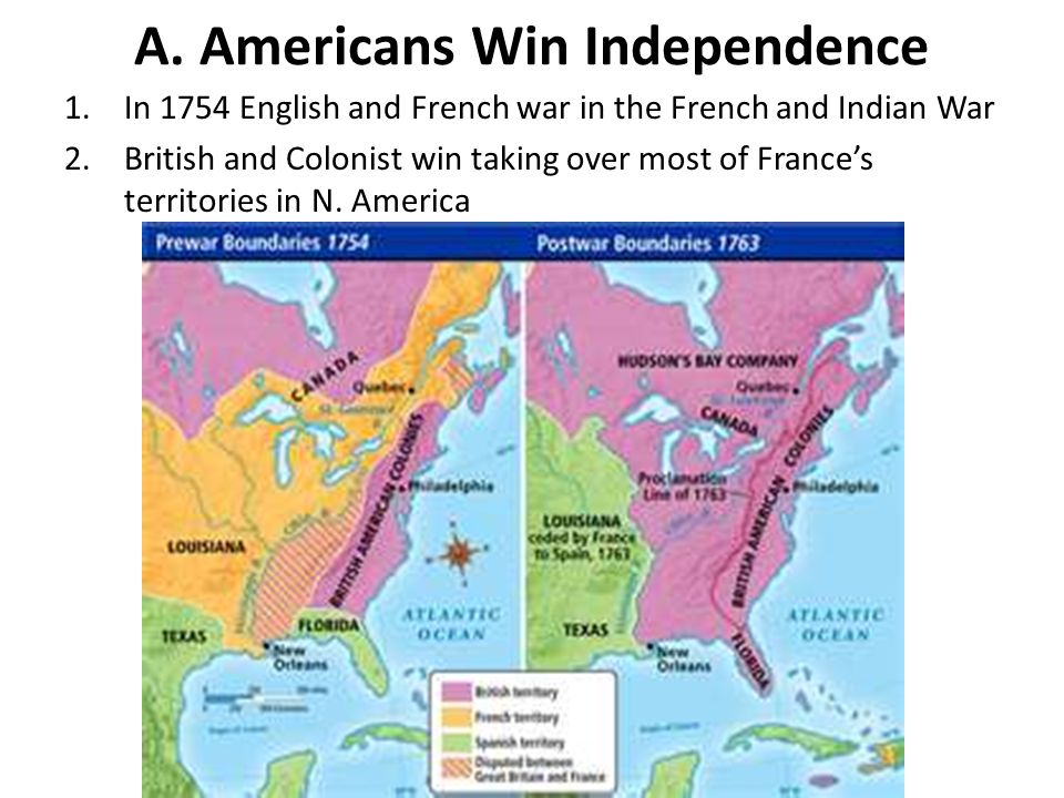 A. Americans Win Independence